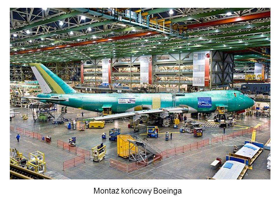 Montaż końcowy Boeinga