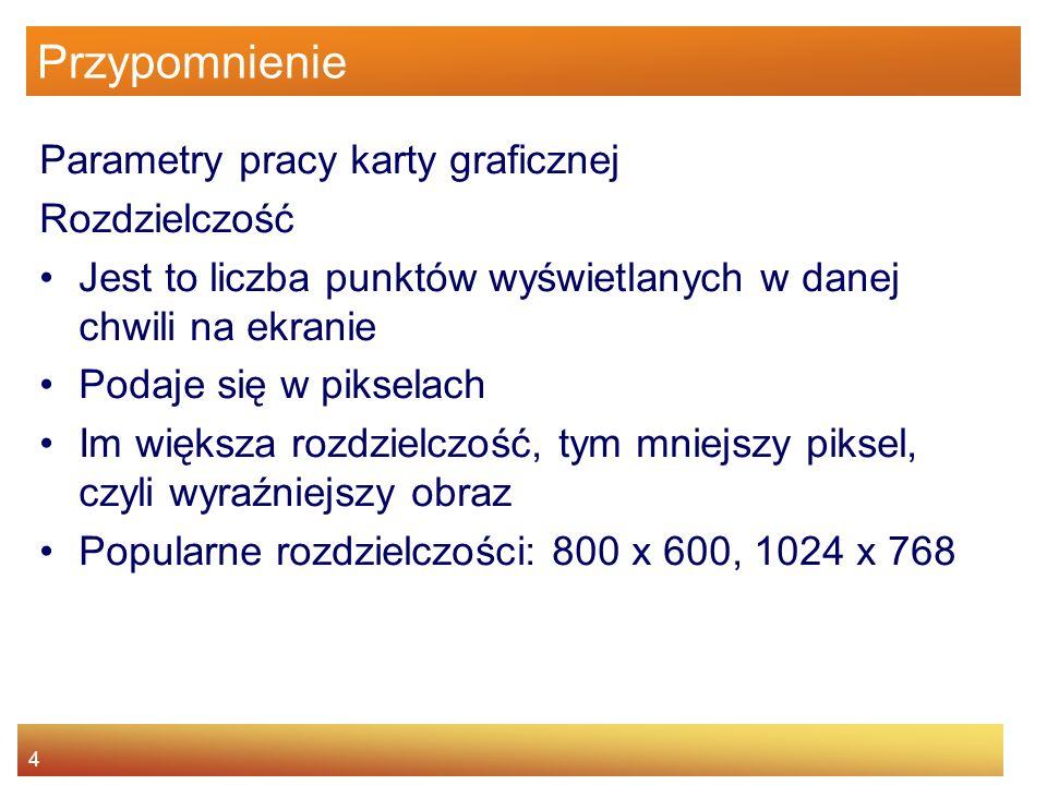 15 Zasady działania kineskopu Rodzaje masek perforowana (inwarową, typu delta).