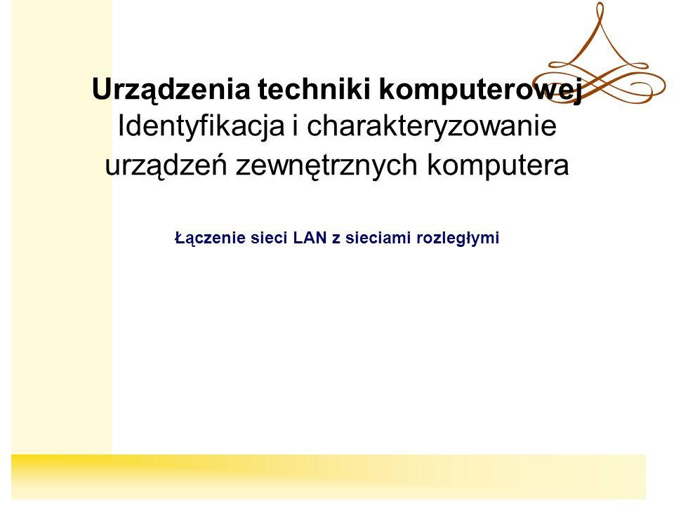 22 ISDN ISDN (ang.Integrated Services Digital Network), sieć cyfrowa z integracją usług.