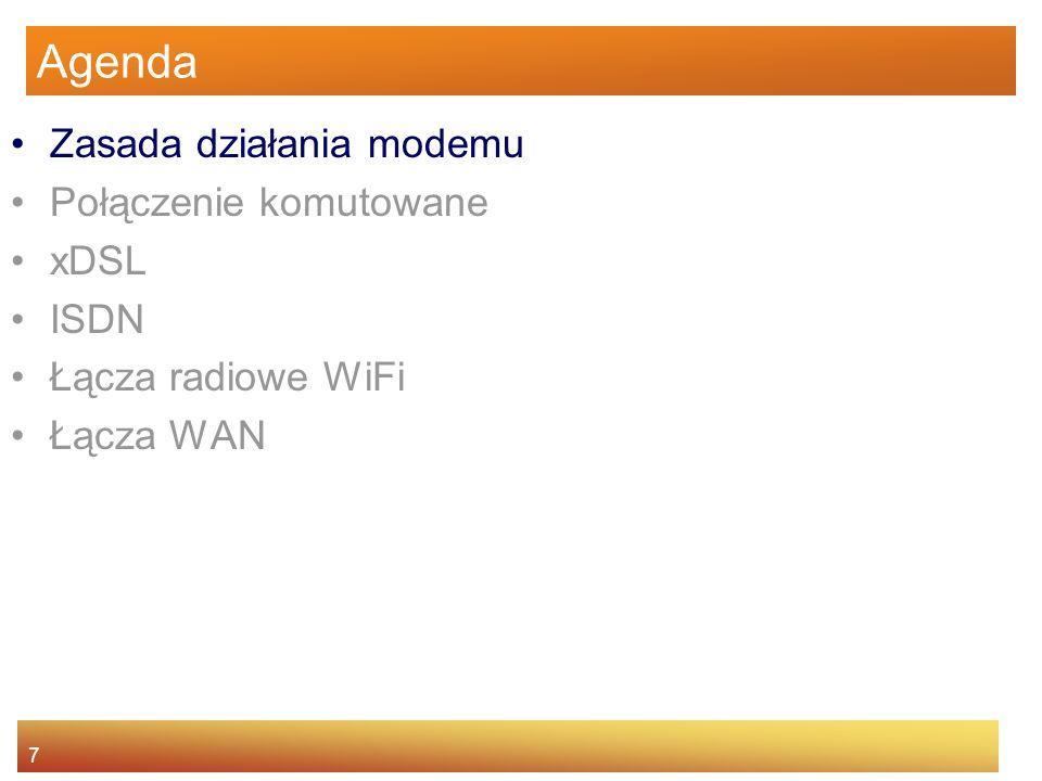 28 Łącza radiowe WiFi obszary, gdzie można uzyskać dostęp do WiFi nazywa się hotspotami.