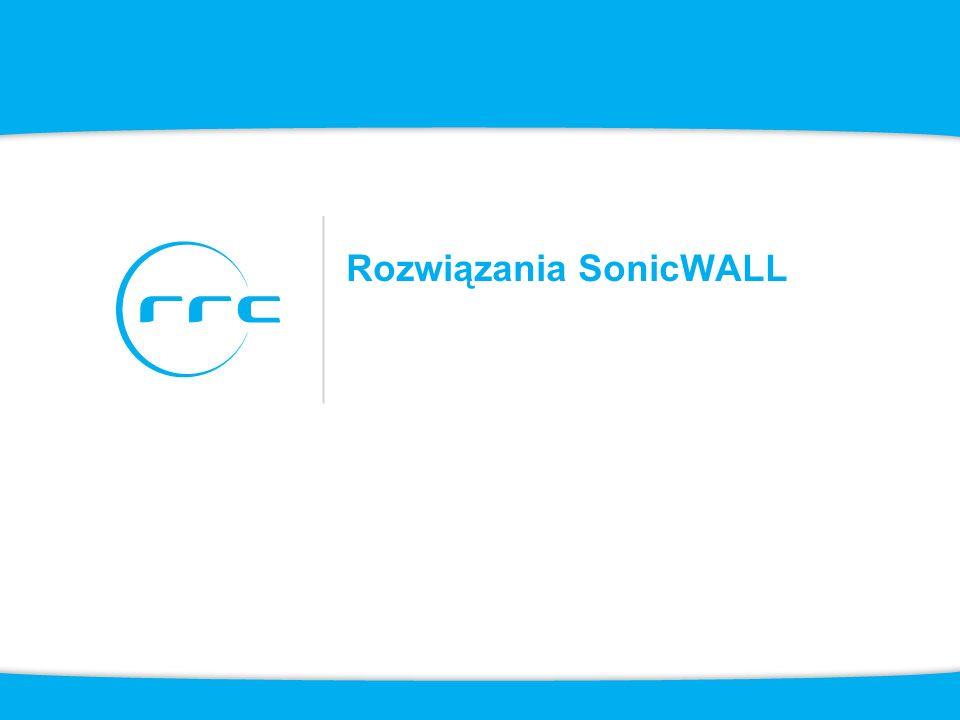 4 Użytkownicy zdalni SonicWALL Aktualizacje Ochrona sieci Seria TZ Ochrona sieci Seria NSA i E-Class NSA Ochrona danych Seria CDP Bezpieczny dostęp zdalny Seria SSL-VPN i Aventail VPN Ochrona poczty Seria Email Security AntiSpam Dektop Ochrona WEB Seria CSM Ochrona sieci WiFi Sonic Point Zarządzanie i raportowanie Global Management System ViewPoint
