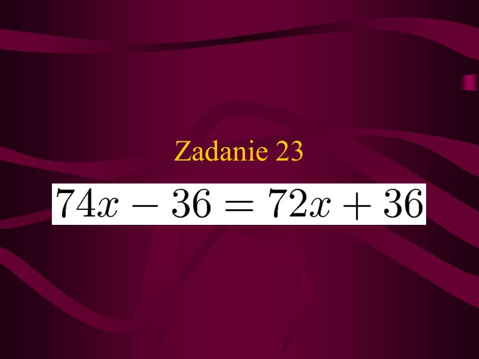 Zadanie 22