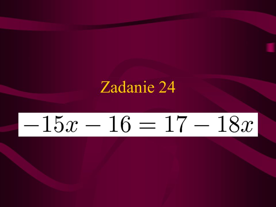 Zadanie 24