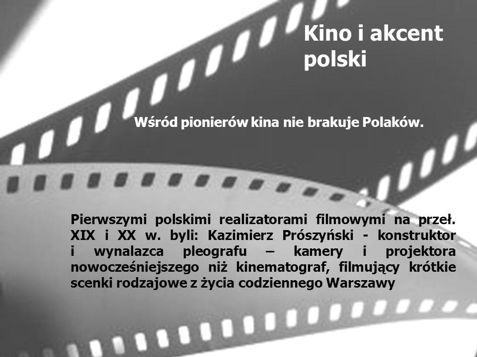 Lata przed I wojną światową to okres wielkiego rozwoju kina francuskiego.