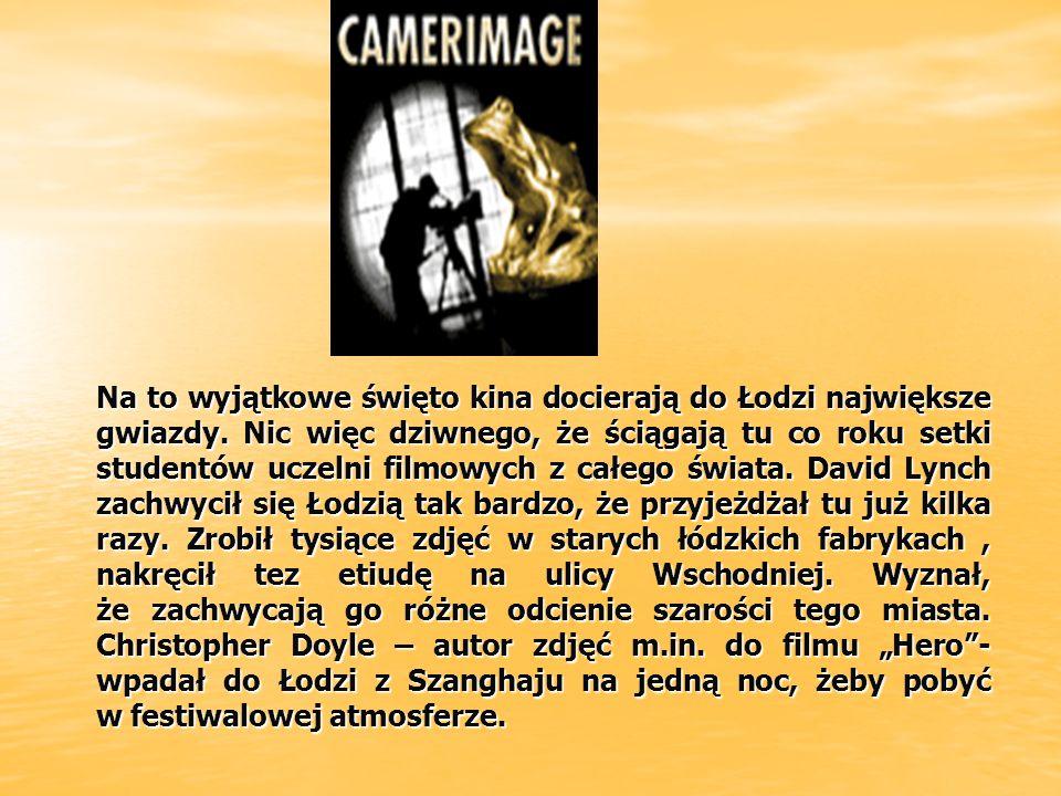 Dodatkowym magnesem, który przyciąga filmowców do Łodzi jest również organizowany tutaj od 2000 r.