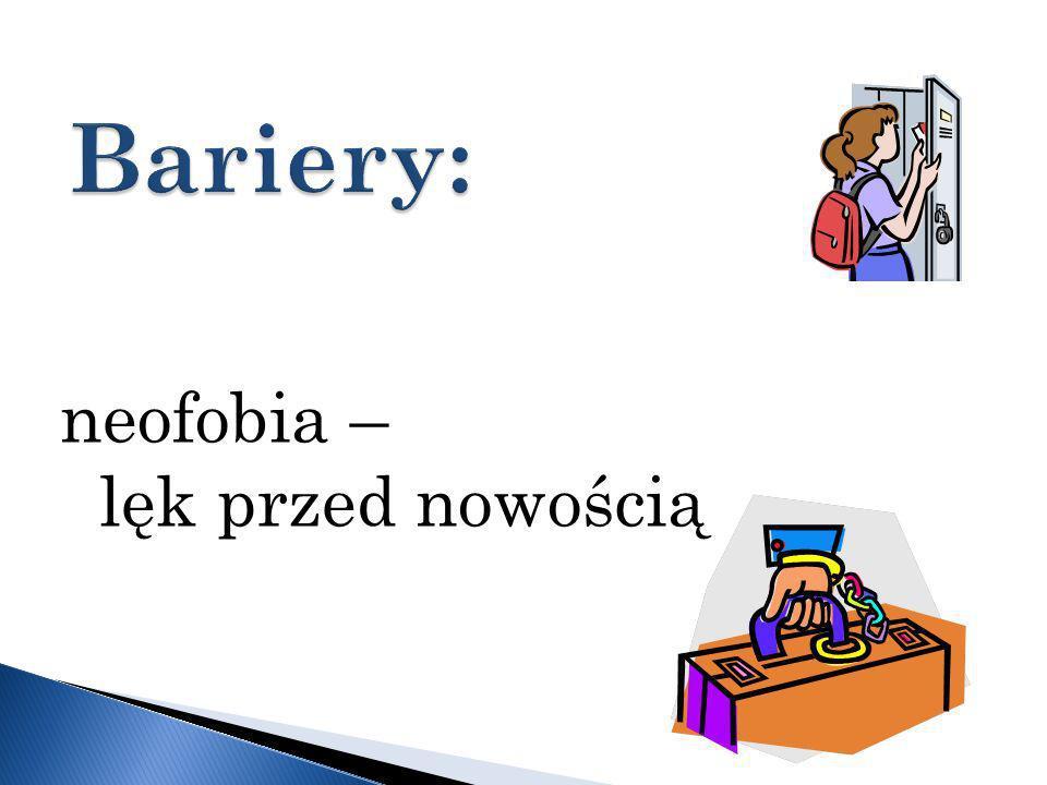 neofobia – lęk przed nowością