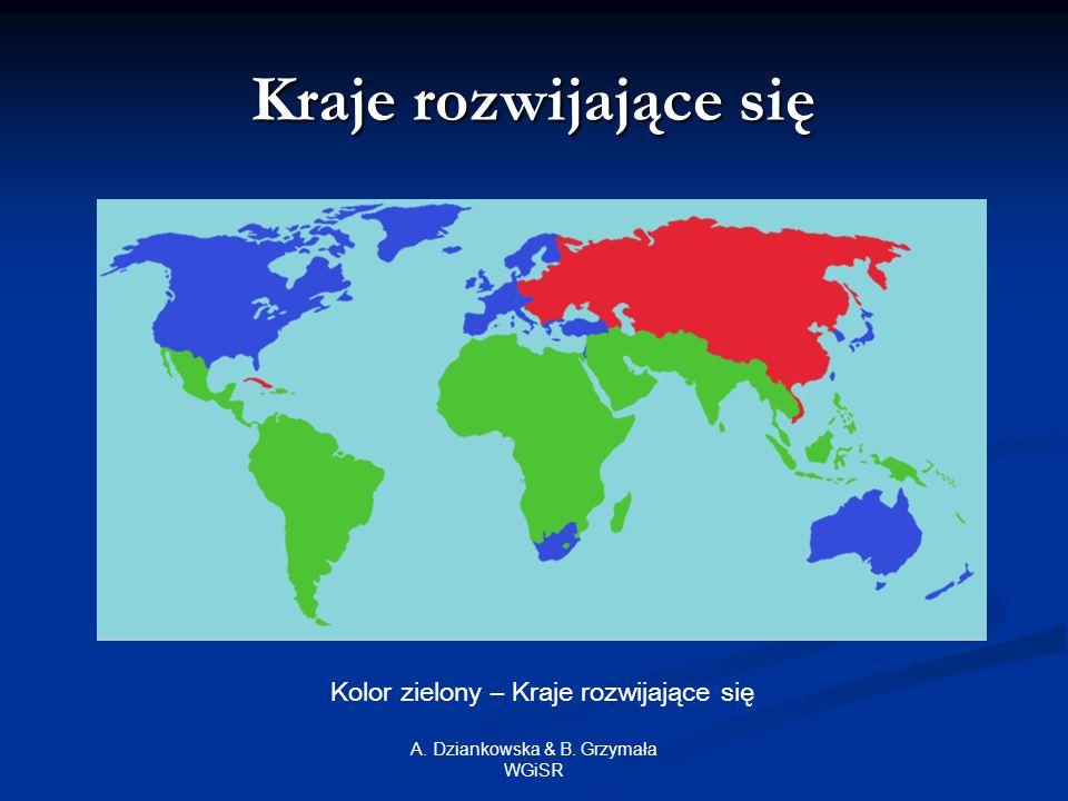 A.Dziankowska & B. Grzymała WGiSR Bibliografia: 1.