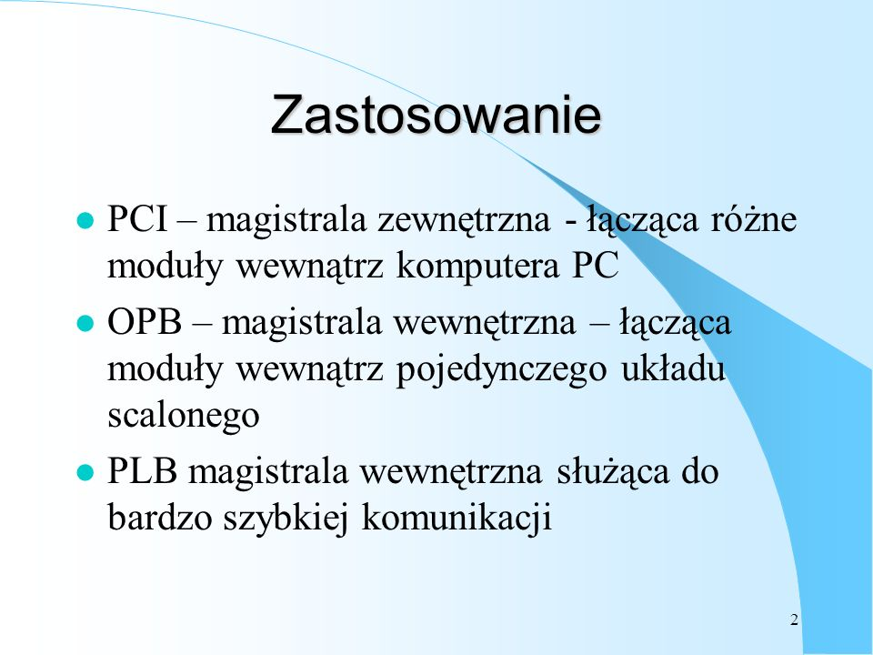 3 Przykład magistrali PCI
