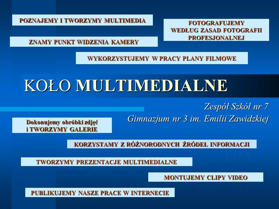 POZNAJEMY I TWORZYMY MULTIMEDIA Multimedia (z łac.