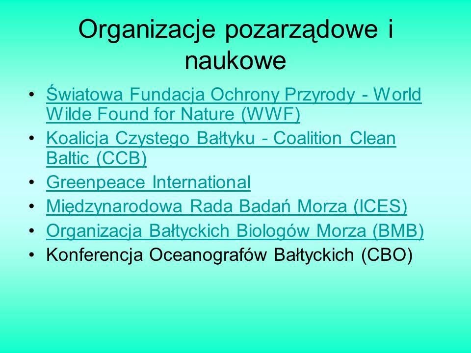 Organizacje pozarządowe i naukowe Światowa Fundacja Ochrony Przyrody - World Wilde Found for Nature (WWF)Światowa Fundacja Ochrony Przyrody - World Wi