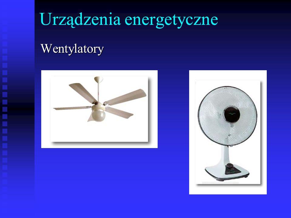 Urządzenia energetyczneWentylatory