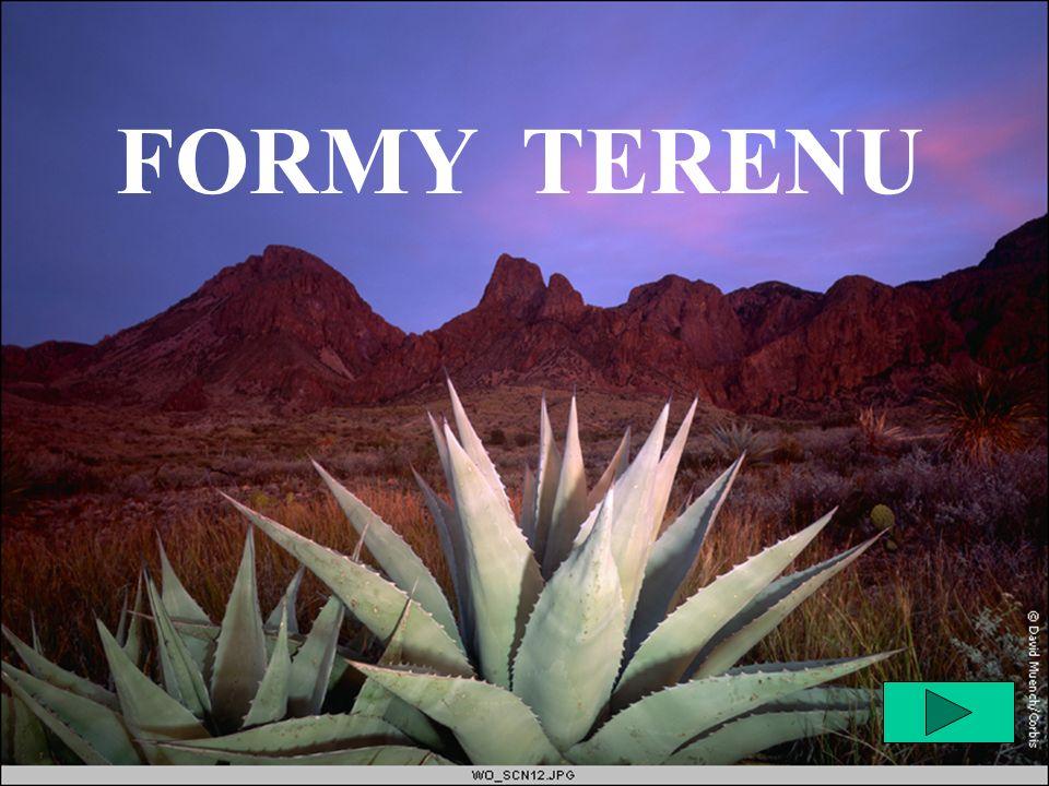 FORMY TERENU