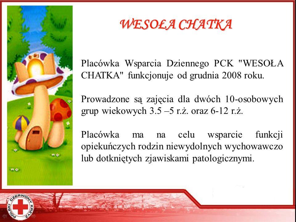 WESOŁA CHATKA Placówka Wsparcia Dziennego PCK