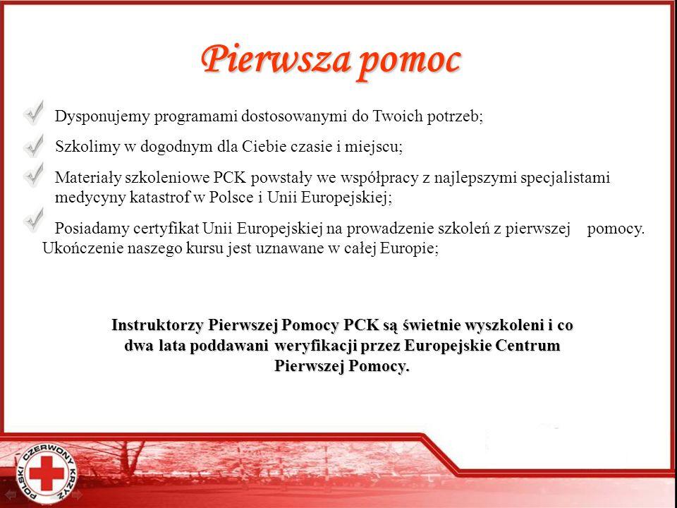 Pomagamy potrzebującym – bądź z nami Biuro Zarządu Głównego PCK 00-561 Warszawa ul.