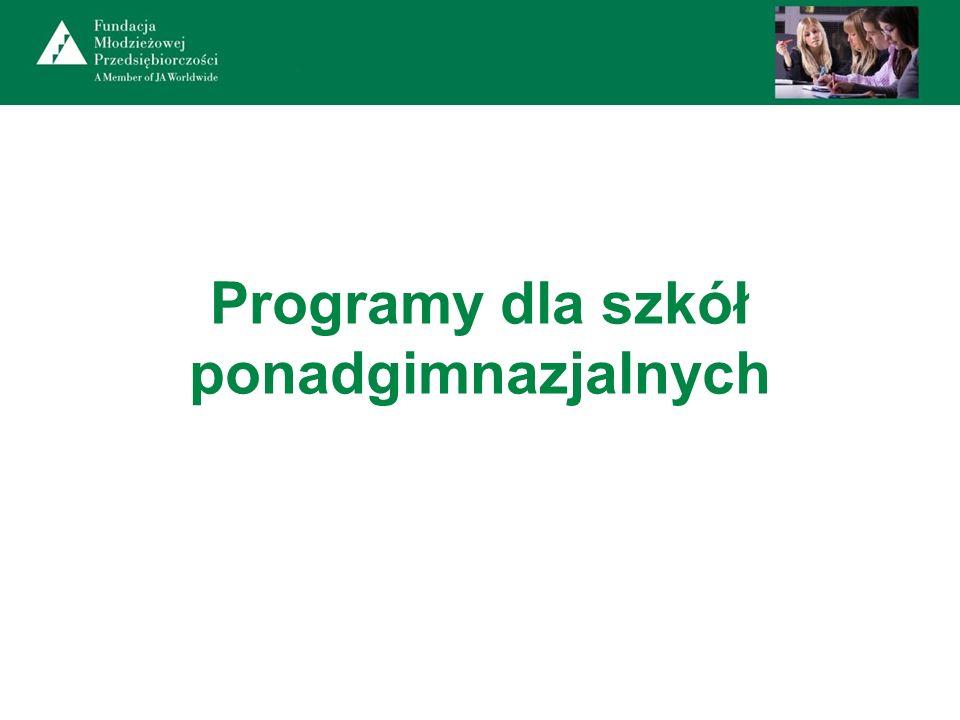 Programy dla szkół ponadgimnazjalnych