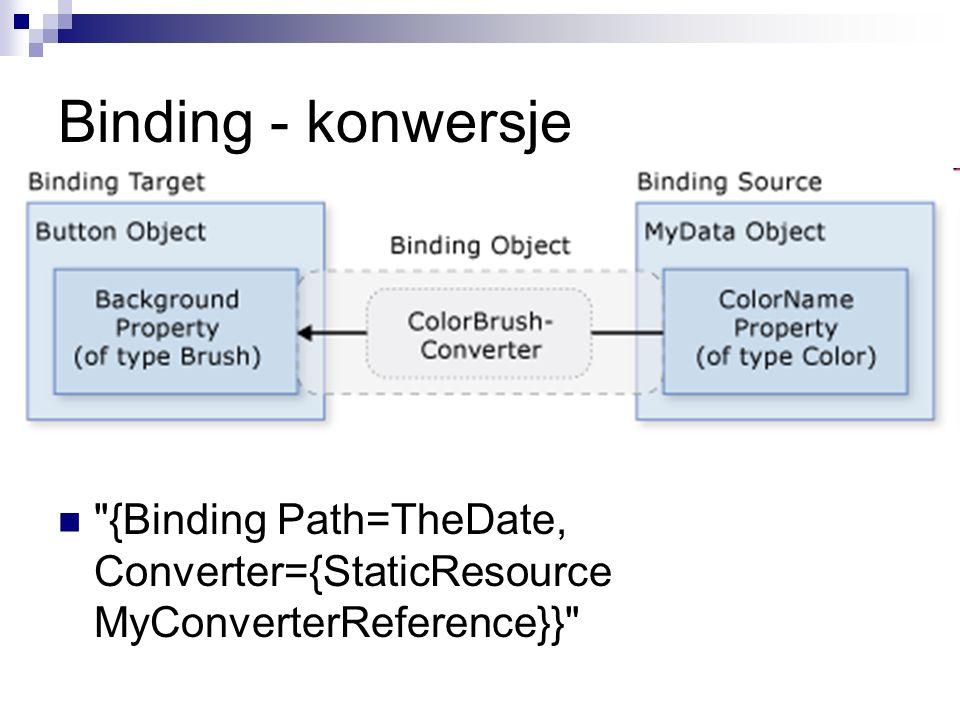 Binding - konwersje