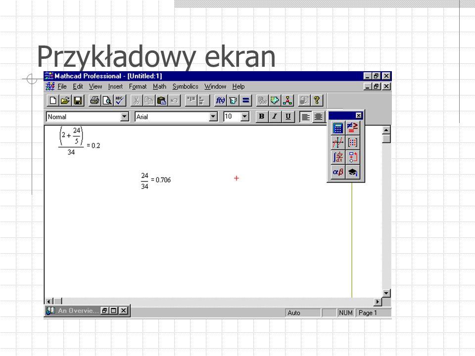 Przykładowy ekran
