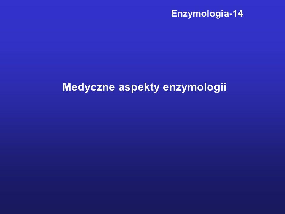Enzymologia-14 Medyczne aspekty enzymologii