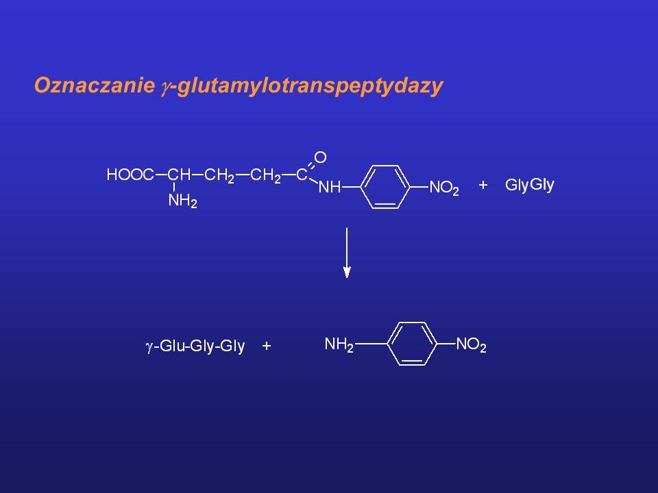 Oznaczanie -glutamylotranspeptydazy Gly