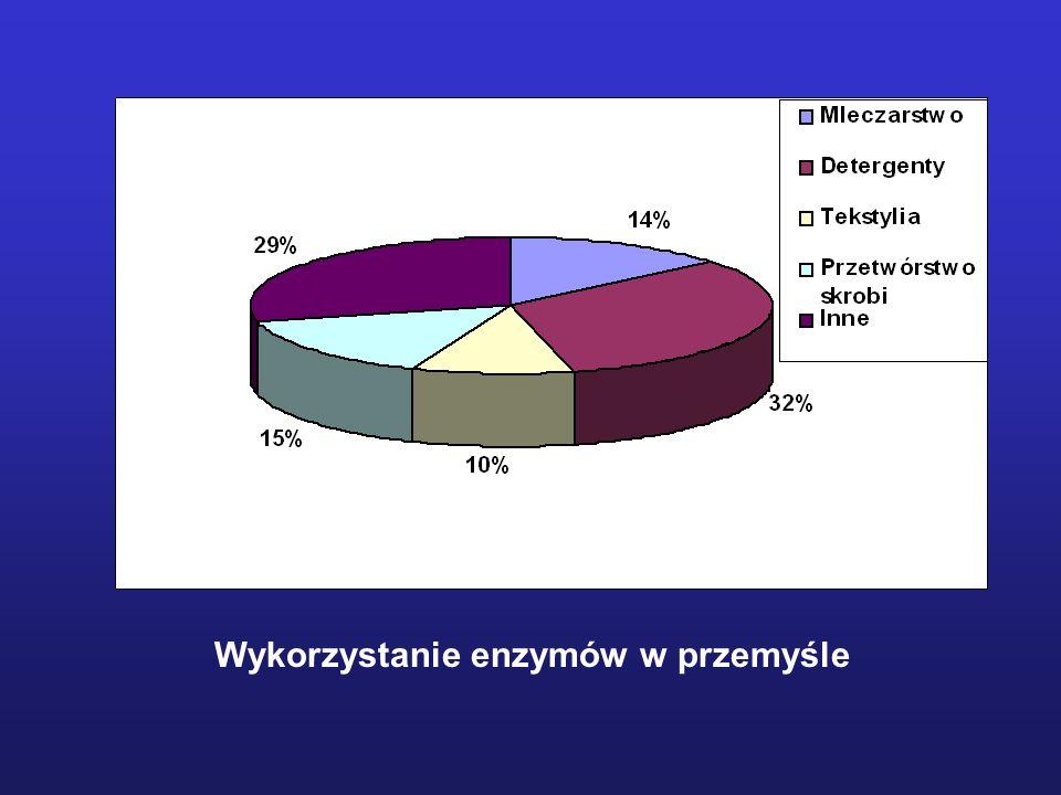Wykorzystanie enzymów w przemyśle