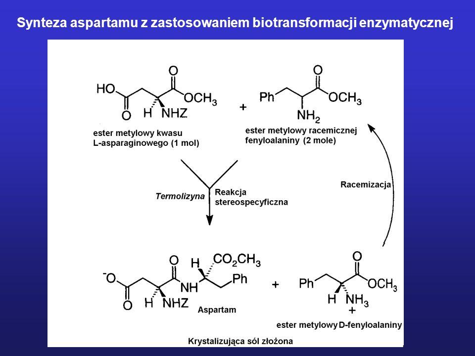 Synteza aspartamu z zastosowaniem biotransformacji enzymatycznej