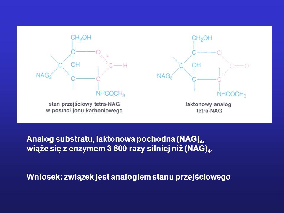 Określenie mechanizmu katalizy Detekcja intermediatów – tetraedryczny stan przejściowy 1.