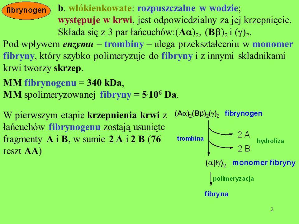 33 Karboksypeptydaza A preferuje AA C-terminalne silnie hydrofobo- we, np.