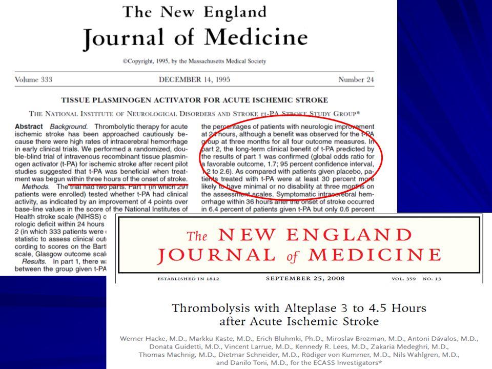 Nadciśnienie tętnicze SBP >160mmHg: >60% chorych w ostrej fazie udaru (nadciśnienie tętnicze, ostra reakcja nadciśnieniowa), tendencja do normalizacji w ciągu 24-48 godz.