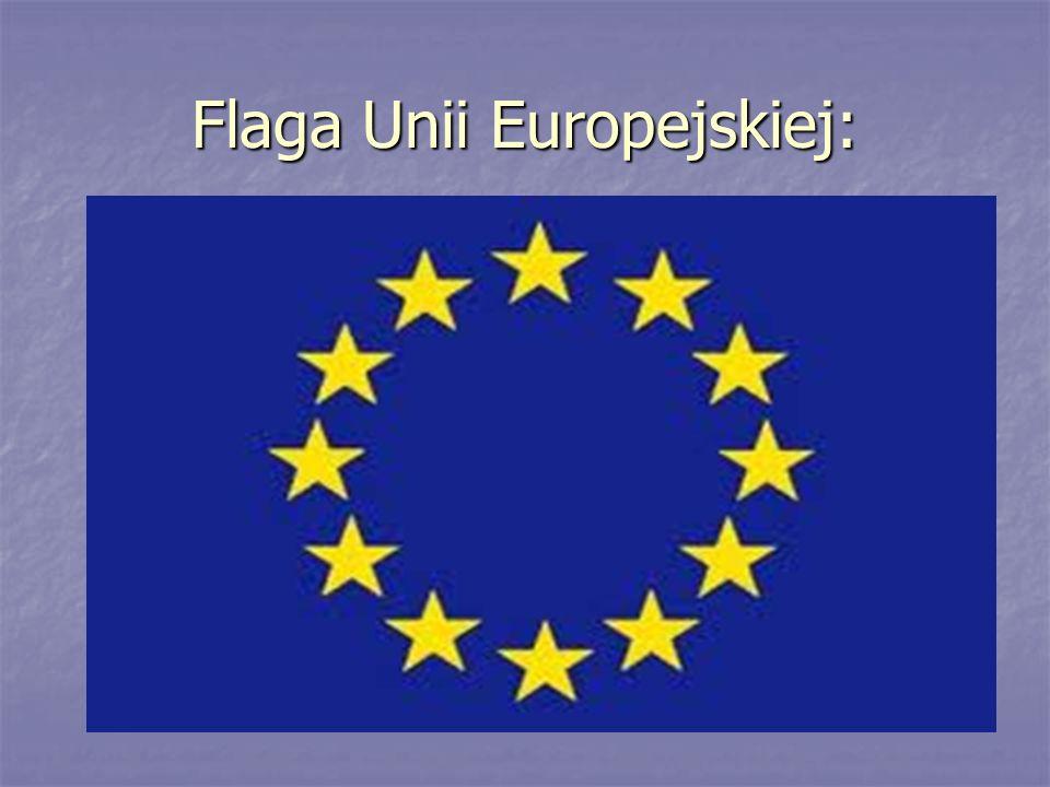Flaga Unii Europejskiej:
