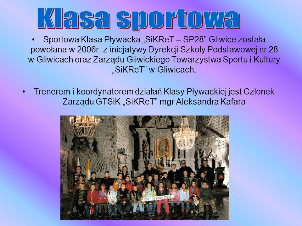 Klub Pływacki SiKReT Gliwice jest Pływacką Sekcją Sportową Gliwickiego Towarzystwa Sportu i Kultury SiKReT w Gliwicach propagującego rozwój sportu (w