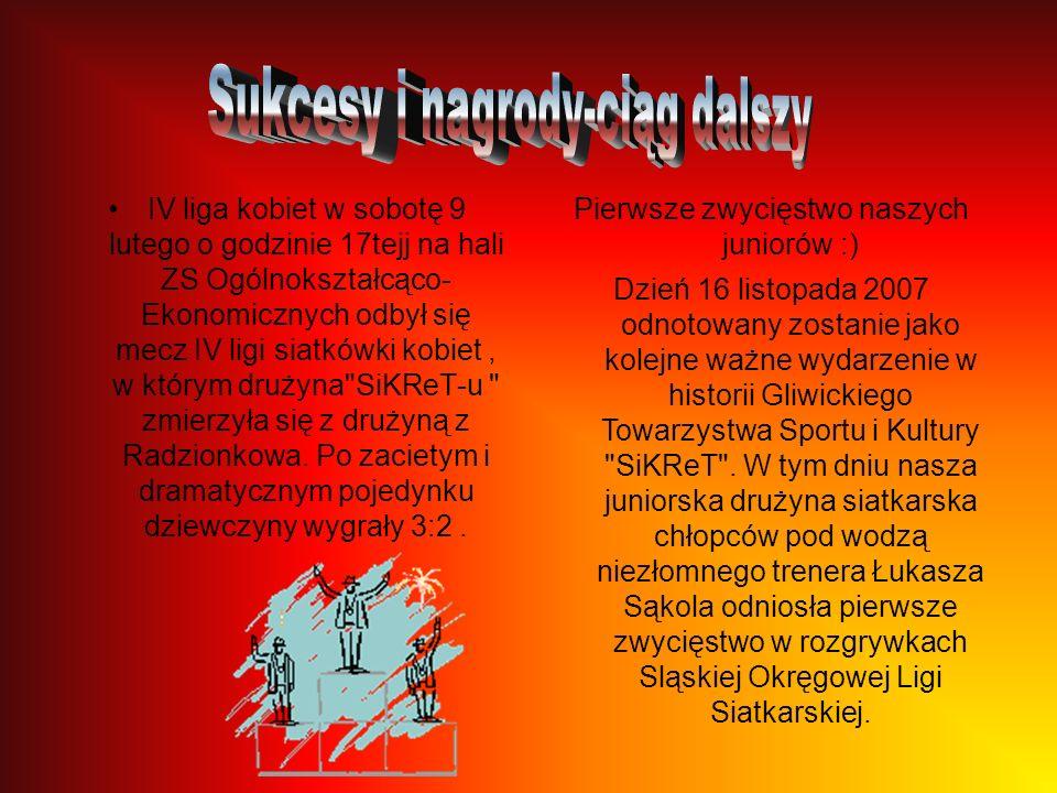 III miejsce naszych siatkarzy na Mistrzostwach Polski !!!Nauczyciele z naszego miasta skupieni wokół seniorskiej drużyny SiKReT Gliwice zajęli III mie