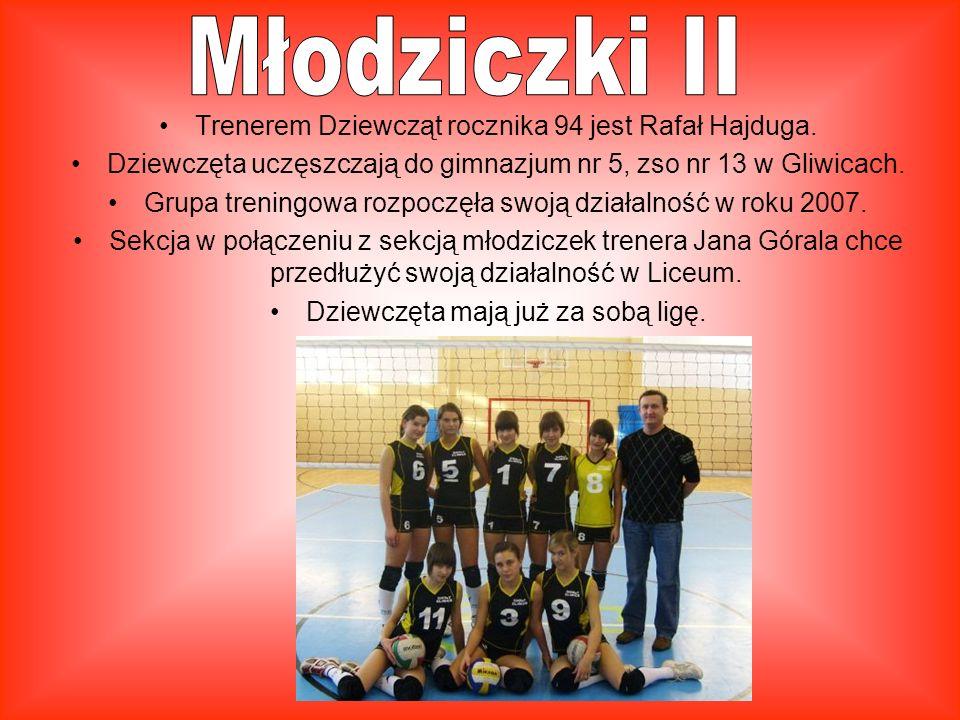 Klasa sportowa rozpoczęła swoja działalność od roku szkolnego 2007/2008 Jej trenerem jest Jan Góral. Dziewczęta mają już za sobą ligę śląska w tym sez