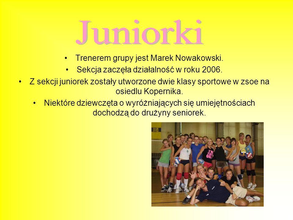 Trenerem grupy rocznika 93 jest również Rafał Hajduga. Sekcja rozpoczęła swoją działalność w roku 2006. Dziewczęta mają za sobą dwa sezony w młodziczk