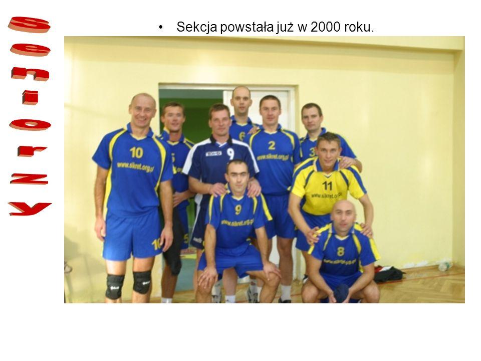 Trenerem sekcji jest Leszek Zdziech oraz Łukasz Sąkol. Jak na razie młodzicy mają za sobą jeden sezon w lidze śląskiej. Kadeci i juniorzy nieco więcej