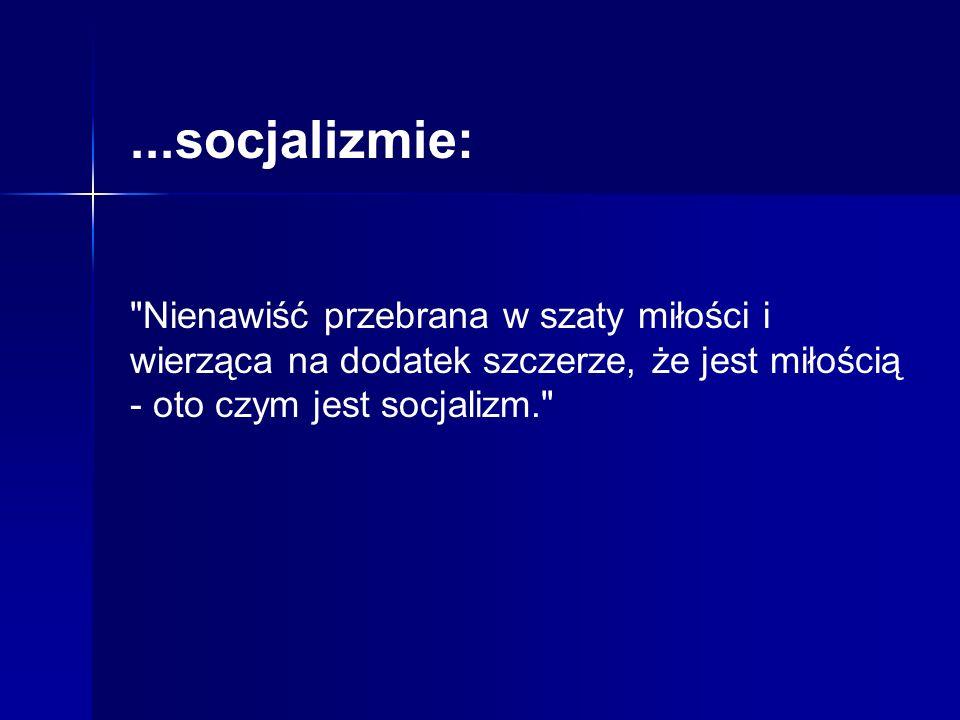 ...socjalizmie: