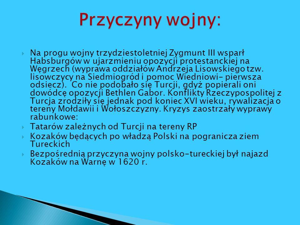 Na progu wojny trzydziestoletniej Zygmunt III wsparł Habsburgów w ujarzmieniu opozycji protestanckiej na Węgrzech (wyprawa oddziałów Andrzeja Lisowski