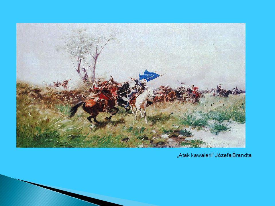 Atak kawalerii Józefa Brandta