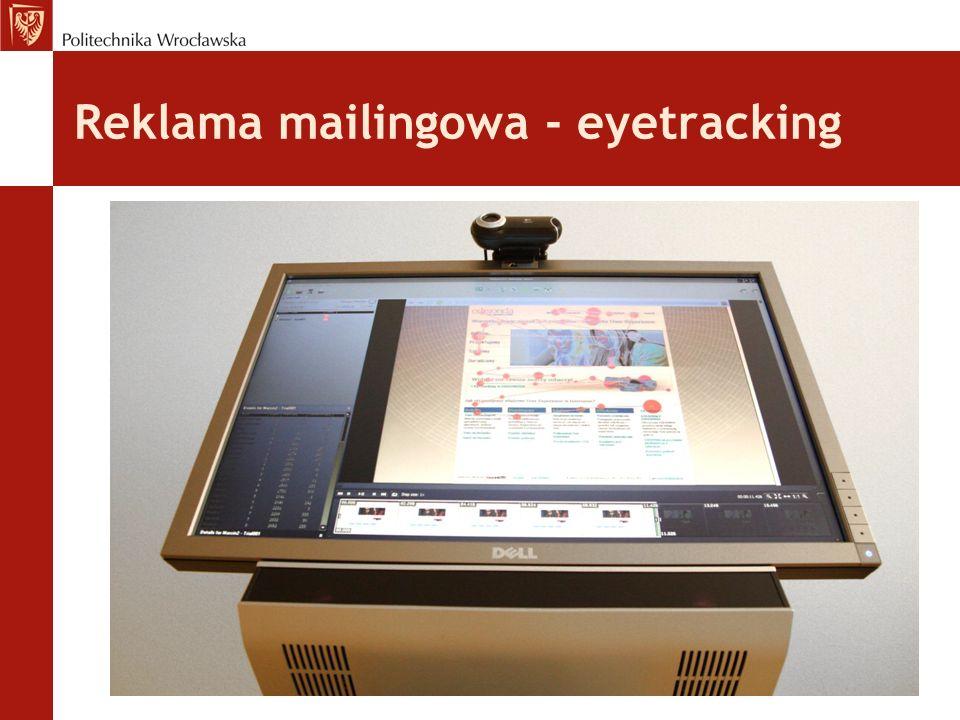 Reklama mailingowa - eyetracking