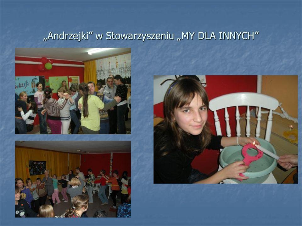 Andrzejki w Stowarzyszeniu MY DLA INNYCH