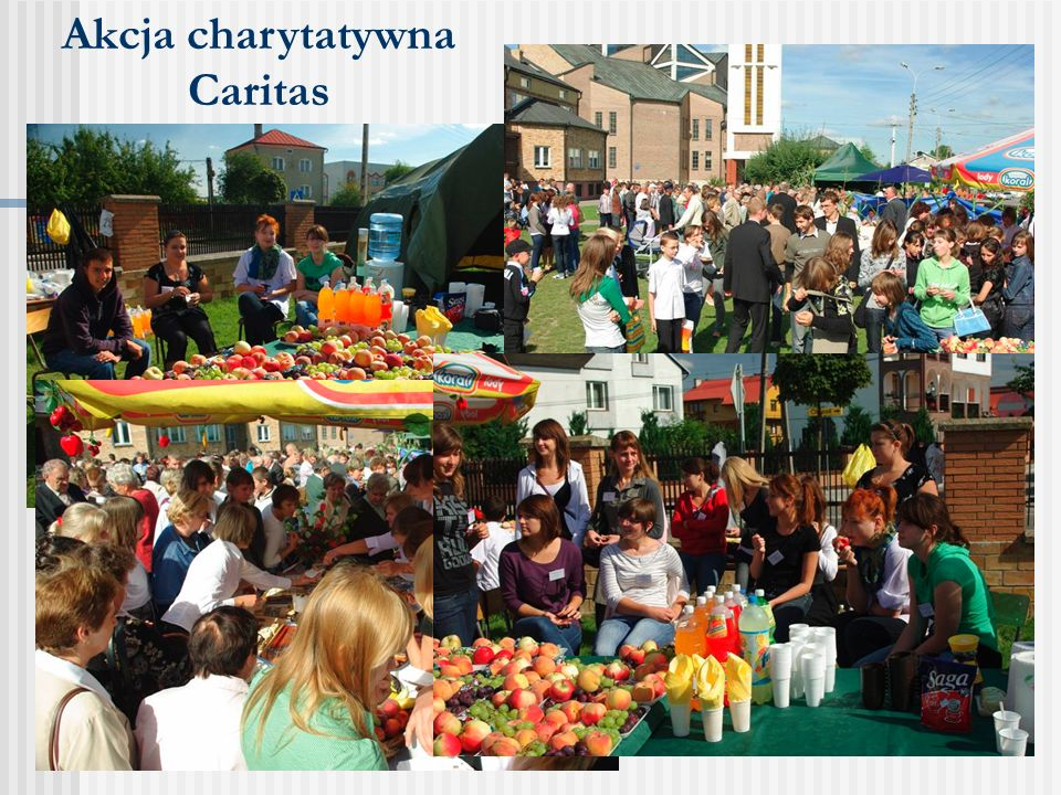 Akcja charytatywna Caritas