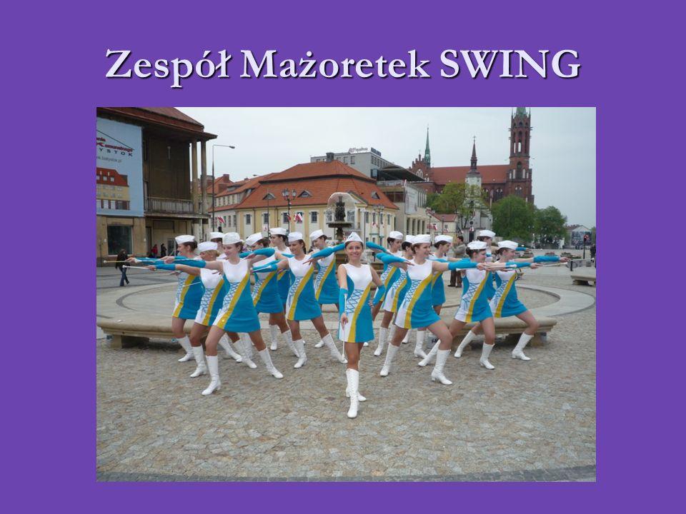 Zespół Mażoretek SWING