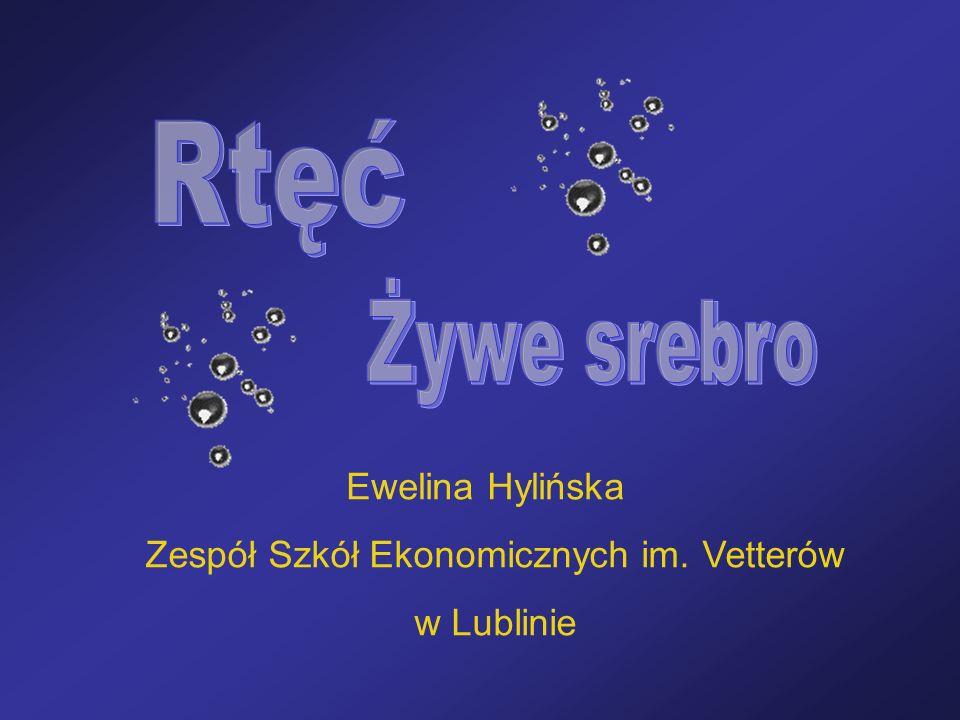 Ewelina Hylińska Zespół Szkół Ekonomicznych im. Vetterów w Lublinie