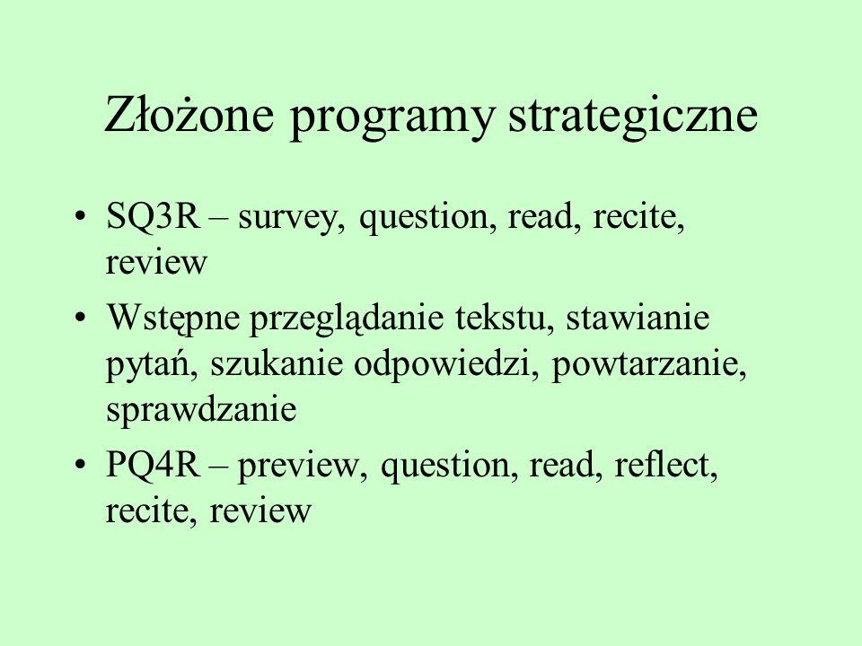 Organizowanie Materiały proste – listy słów, zestawy obrazków Materiały złożone – teksty Organizacja liniowa i hierarchiczna Organizacja według nazw i