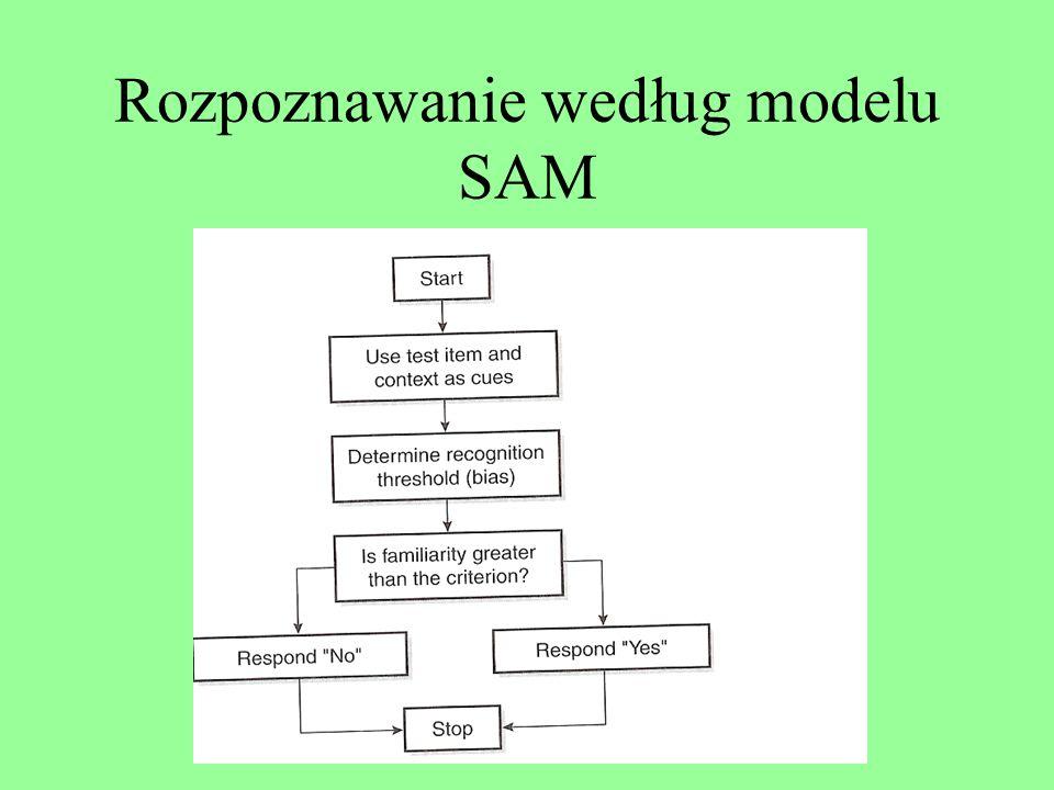 Rozpoznawanie według modelu SAM