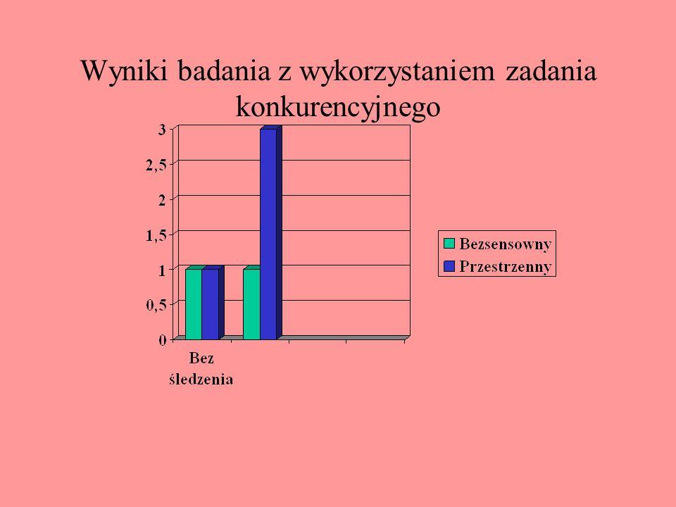 Przykład materiału z badań Baddeleya nad notesem wizualnym 34 125 76 8