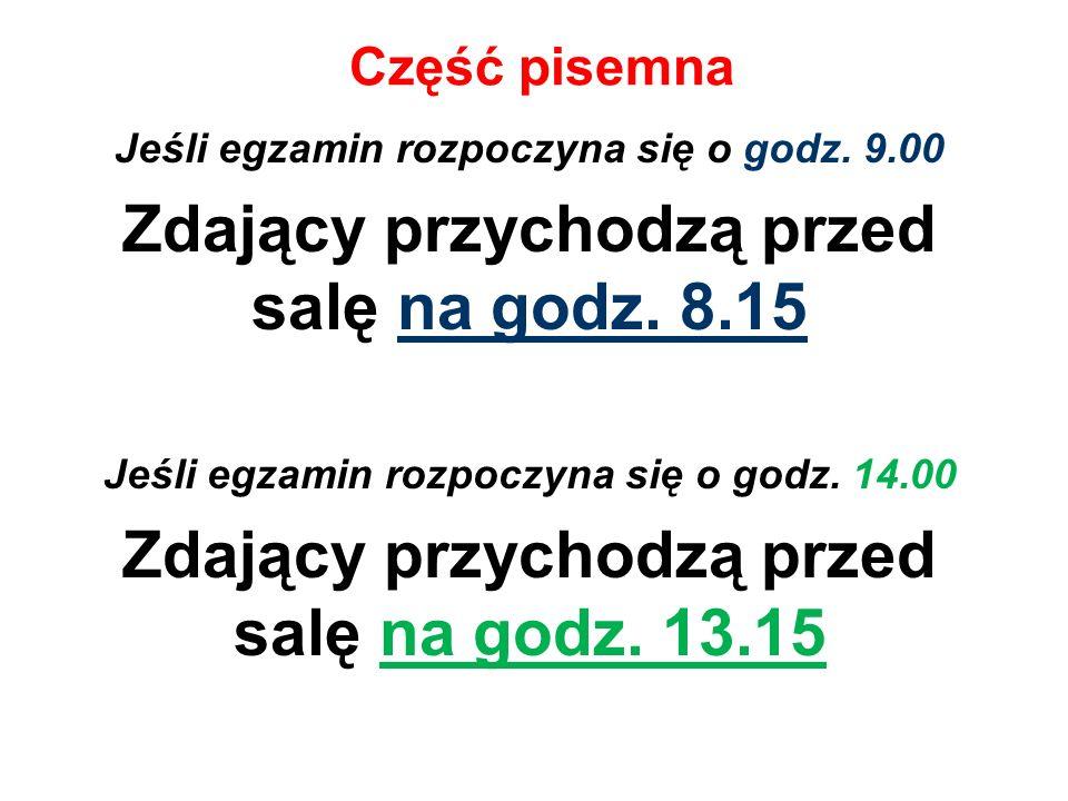 Kolejne sesje egzaminacyjne Absolwent może podwyższyć wyniki części pisemnej egzaminów obowiązkowych z języka polskiego i matematyki na poziomie podstawowym