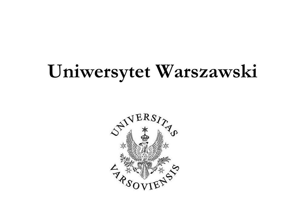 Paweł Stępień Zadania systemu zapewnienia jakości kształcenia na Uniwersytecie Warszawskim wynikające z wprowadzenia Krajowych Ram Kwalifikacji DOBRE PRAKTYKI W ZAPEWNIANIU I DOSKONALENIU JAKOŚCI KSZTAŁCENIA NA UNIWERSYTECIE WARSZAWSKIM 2010 8 czerwca 2010