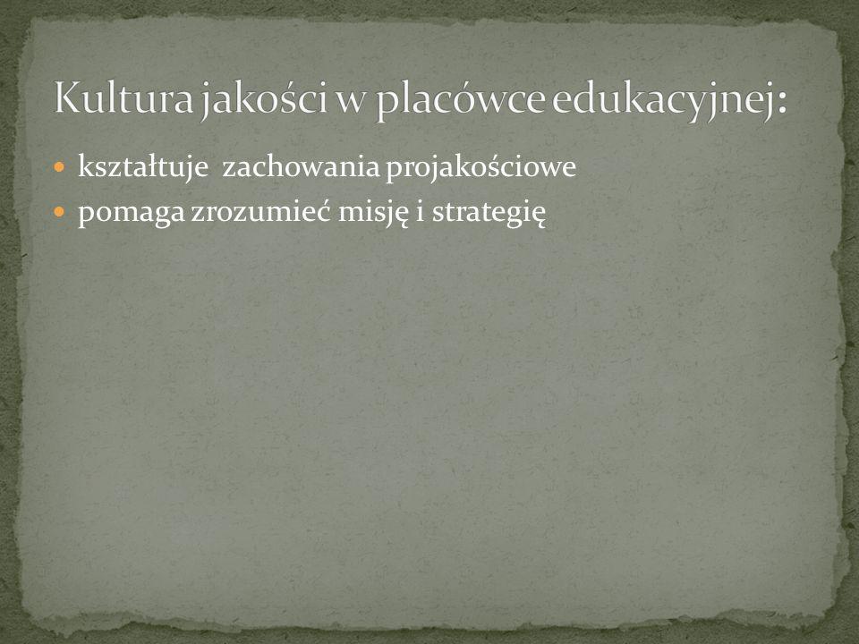 pomaga zrozumieć misję i strategię