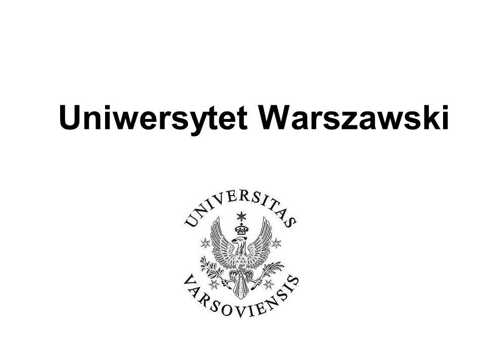 Propozycje działań na rzecz jakości kształcenia przygotowane przez Uczelniany Zespół Zapewnienia Jakości Kształcenia na podstawie raportu z pierwszego ogólnouniwersyteckiego badania ankietowego dotyczącego warunków kształcenia na UW Spotkanie z Wydziałowymi Zespołami Zapewnienia Jakości Kształcenia 19 lutego 2009 r.