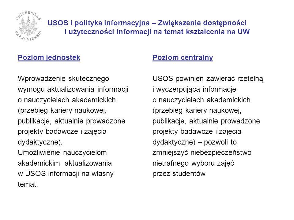 IV. Jakość kadry dydaktycznej